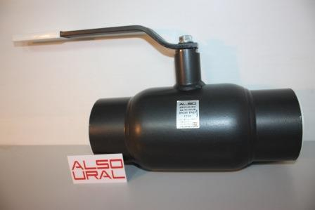 Кран шаровой приварной КШ.П.100.25-01 Ду100 Ру25